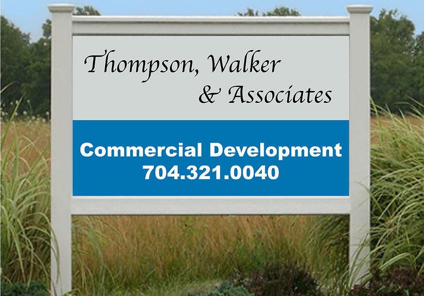 Thompson Walker Real Estate Signs