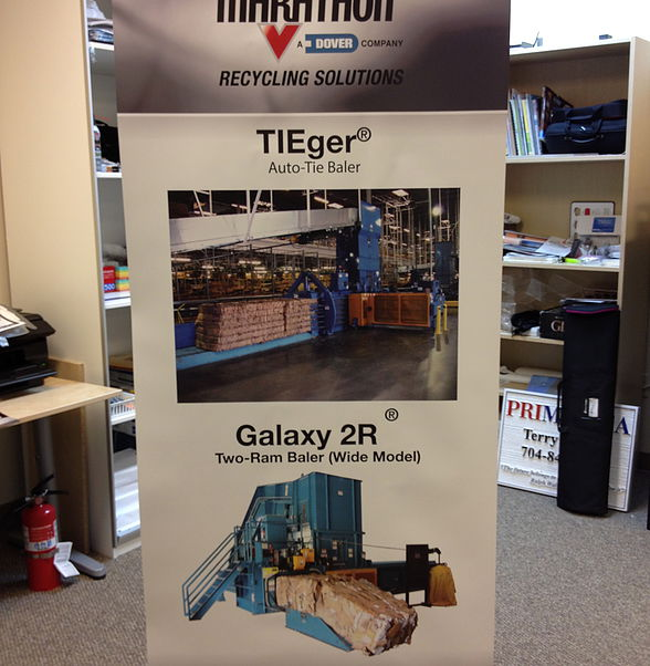 TIEger Banner Stand