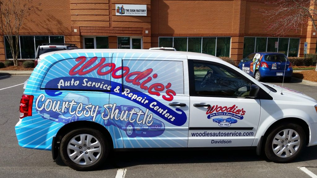 car wraps in Charlotte, NC
